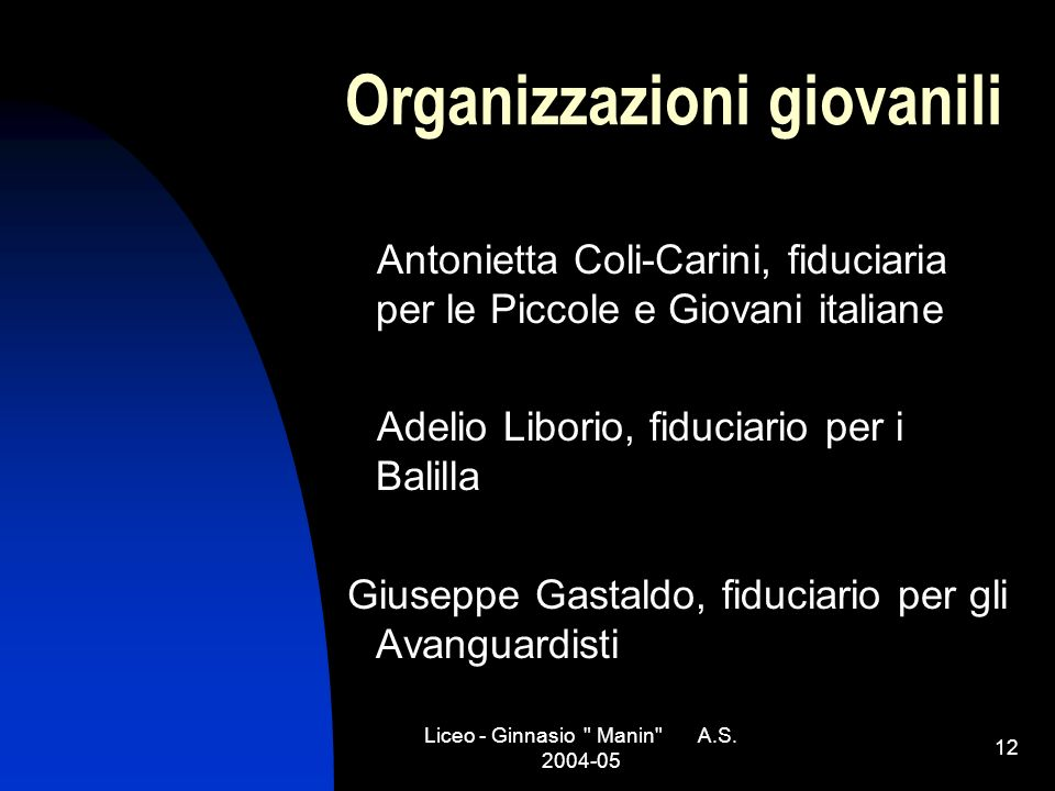 Liceo - Ginnasio Manin A.S.