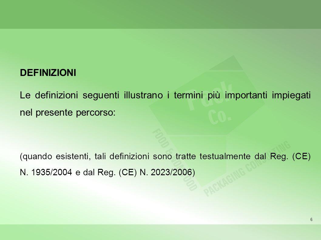 47 Documenti operativi dellimpresa ovvero le procedure operative, le istruzioni, la modulistica, ecc., necessarie per la realizzazione di MCA.
