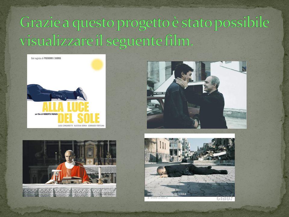 In questo film Don Pino Puglisi nel 1990 ritorna nel suo quartiere d origine, il Brancaccio di Palermo, con nomina del vescovo a parroco di San Gaetano.