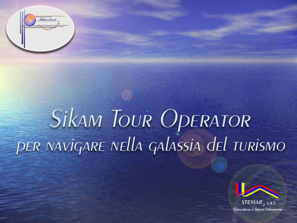 SIKAM Tour Operator SIKAM Tour Operator è un modulo software gestionale per Tour Operator nato dalla necessità di fornire agli operatori, che giornalmente si occupano della vendita di Servizi Turistici, lo strumento ideale per la completa gestione delle fasi di pre-vendita in tutte le sue articolazioni.