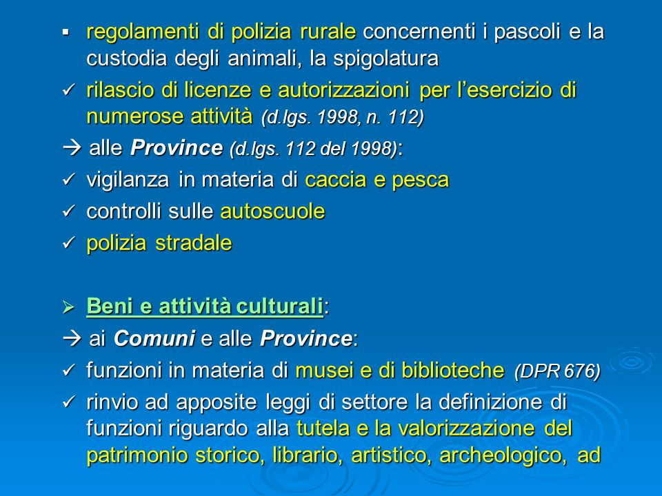 regolamenti di polizia rurale concernenti i pascoli e la custodia degli animali, la spigolatura regolamenti di polizia rurale concernenti i pascoli e