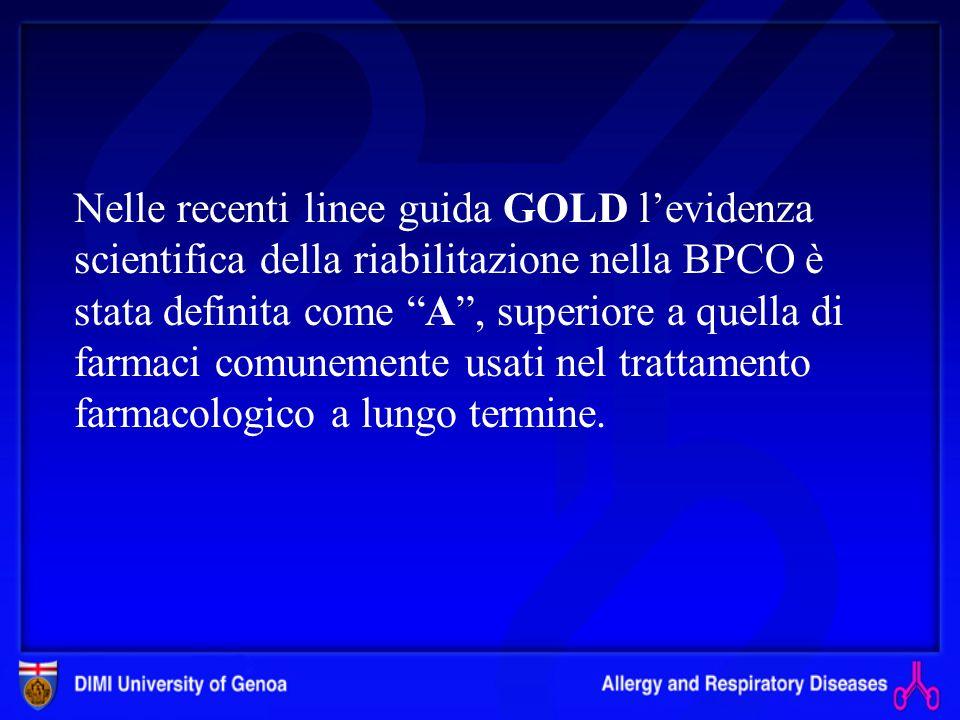Riabilitazione nel paziente BPCO