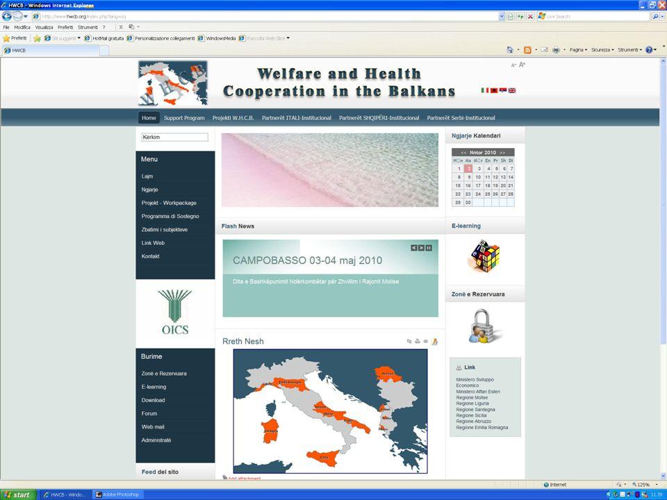 Programma di Sostegno alla Cooperazione Regionale.