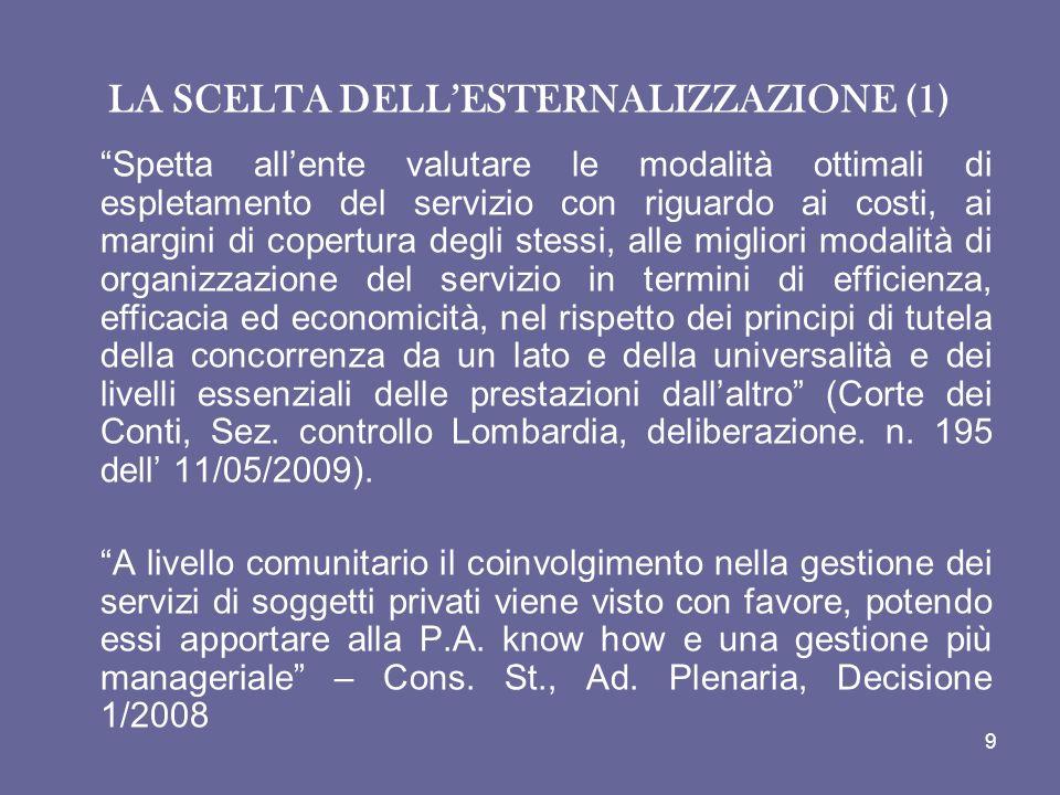 PRINCIPI RELATIVI AI CONTRATTI ESCLUSI Art.27. Principi relativi ai contratti esclusi 1.