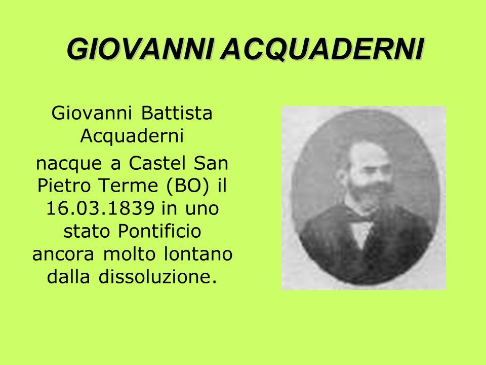 GIOVANNI ACQUADERNI E MARIO FANI LA NASCITA DELLA AZIONE CATTOLICA ITALIANA LA NASCITA DELLA AZIONE CATTOLICA ITALIANA