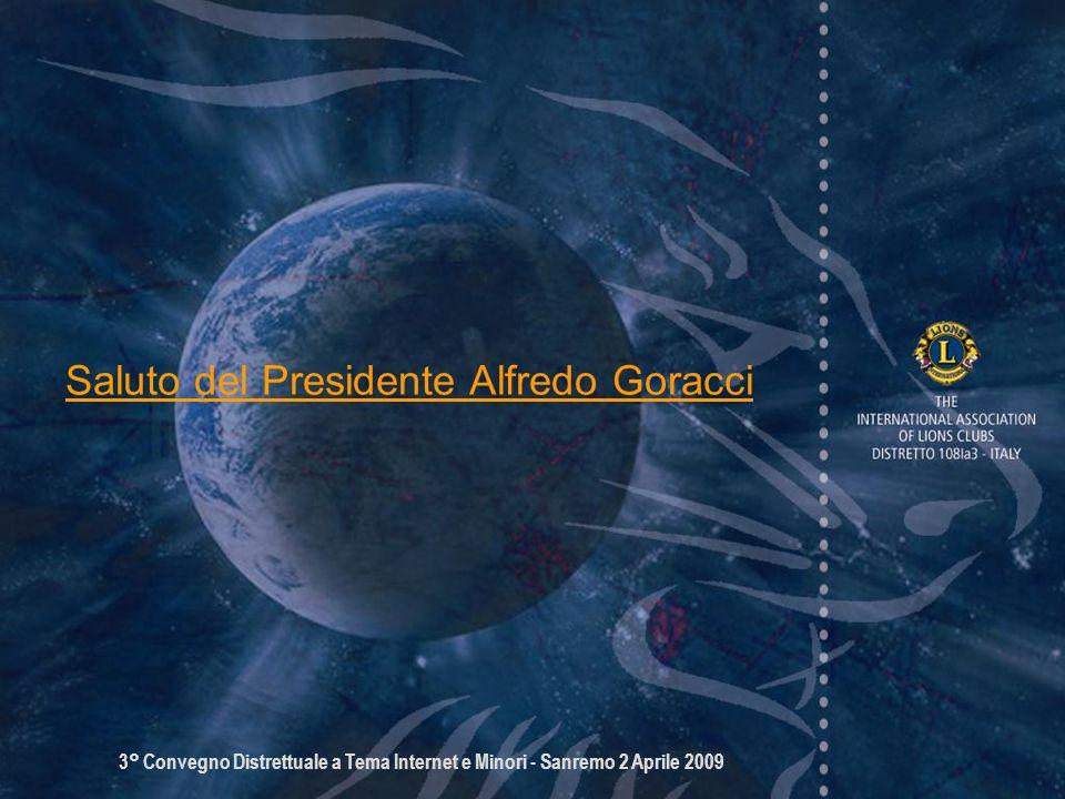 Saluto del Presidente Alfredo Goracci