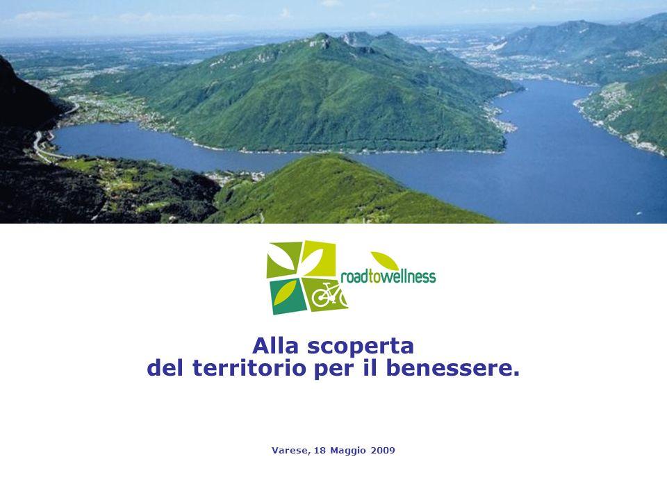 Alla scoperta del territorio per il benessere. Varese, 18 Maggio 2009