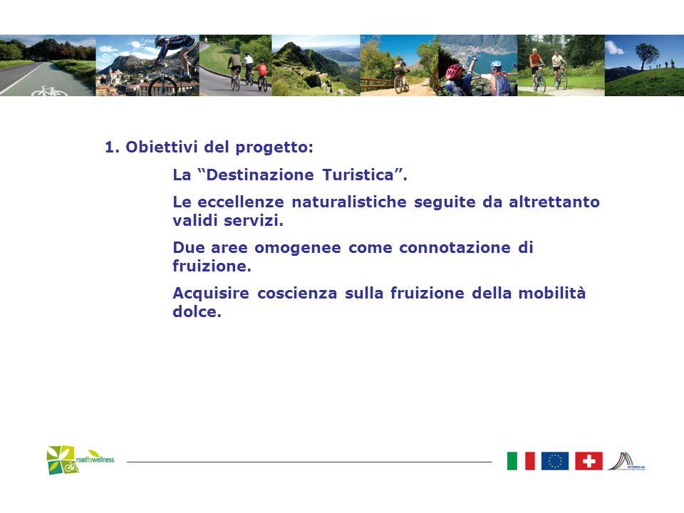 1. Obiettivi del progetto: La Destinazione Turistica.