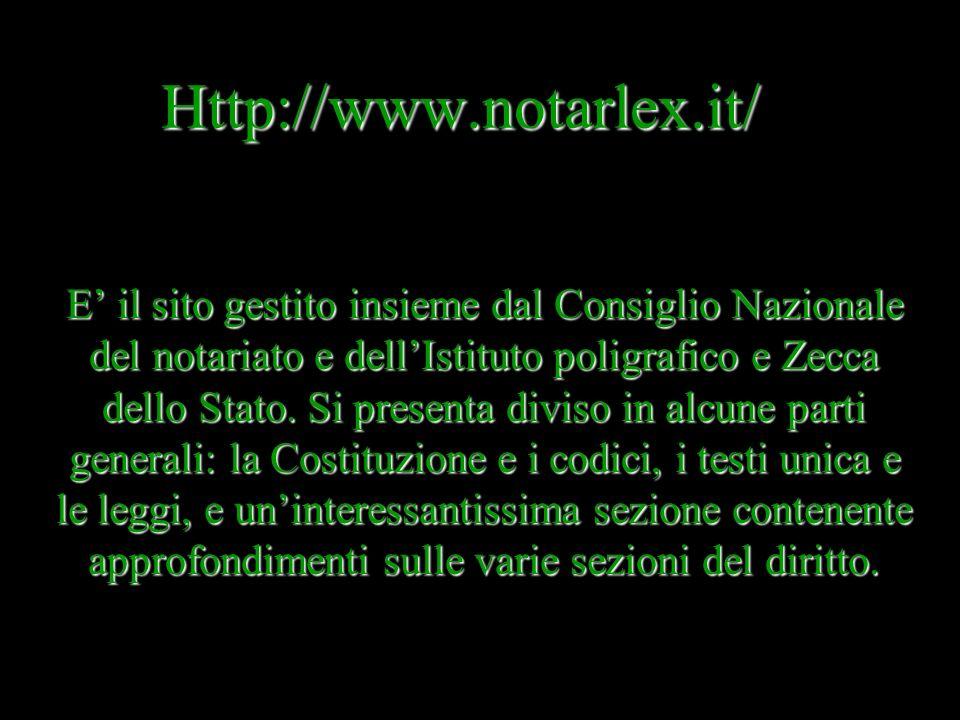 Http://web.unicam.it/ssdici/agenda.html Sito che si definisce una rubrichetta di diritto virtuale gestito da Maria Concetta De Vivo, delluniversità di