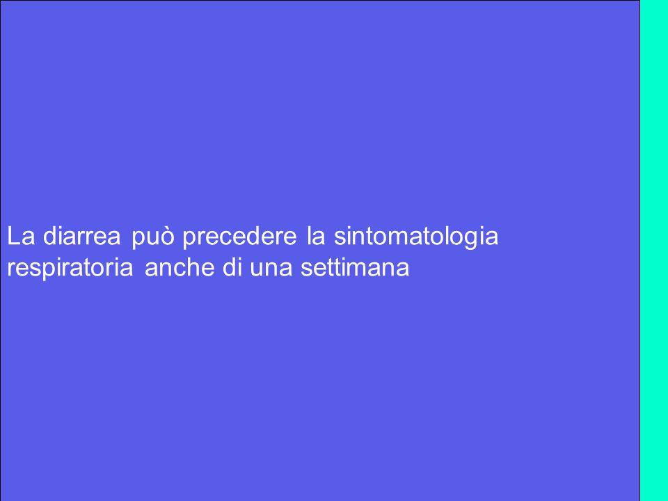 Quando richiedere il test specifico Febbre con inizio acuto>=38°,tosse e dolore alla gola più uno dei seguenti - contatto con polli morti o malati 7 giorni prima dellinizio della malattia - contatto con pazienti con polmonite fino a 10 giorni prima dellinizio della malattia - essere stato in villaggi con polli morti o malati entro 14 giorni dallinizio dei sintomi In presenza di influenza aviaria E in pazienti con polmonite o anche presentazione atipica o sintomatologia respiratoria importante in assenza di chiara eziologia