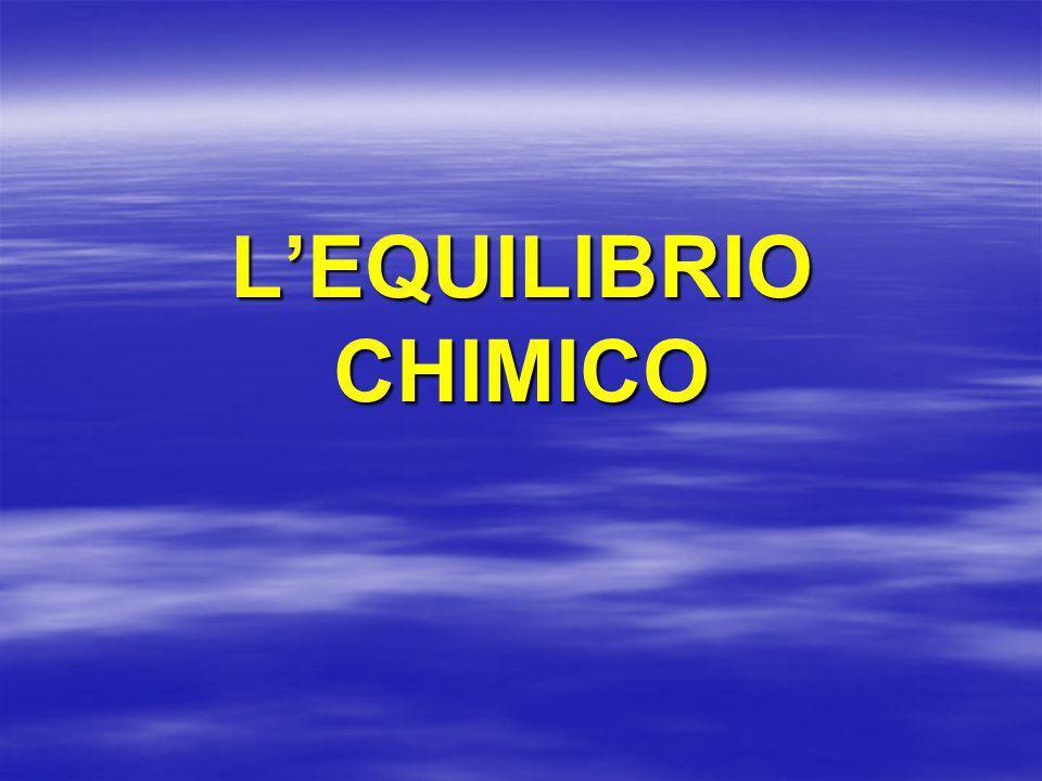 LEQUILIBRIO CHIMICO