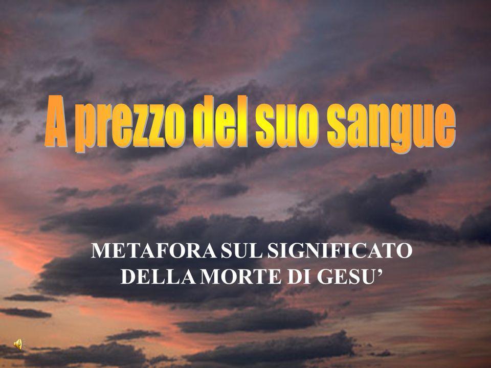 METAFORA SUL SIGNIFICATO DELLA MORTE DI GESU
