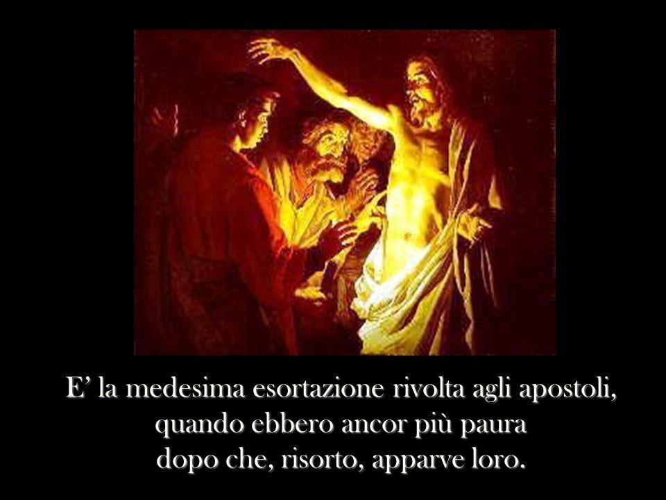 elaborazione di Marcello Abbondi http://www.micromediaups.it NON ABBIATE DUNQUE PAURA