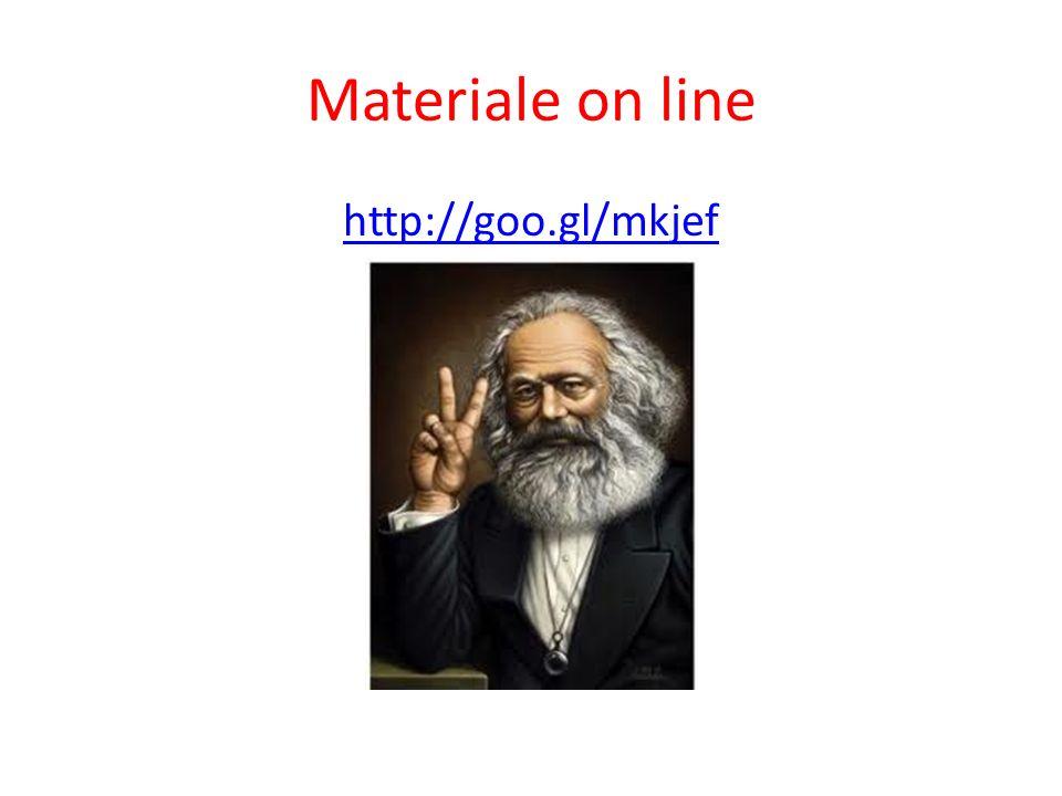 Materiale on line http://goo.gl/mkjef