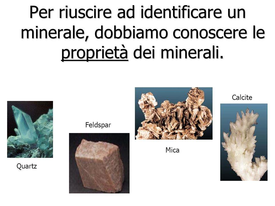 rispondi alle seguenti domande: Ci sono 4 minerali tra i più comuni, come si chiamano? Di questi 4 minerali, quale costituisce più del 60% della crost