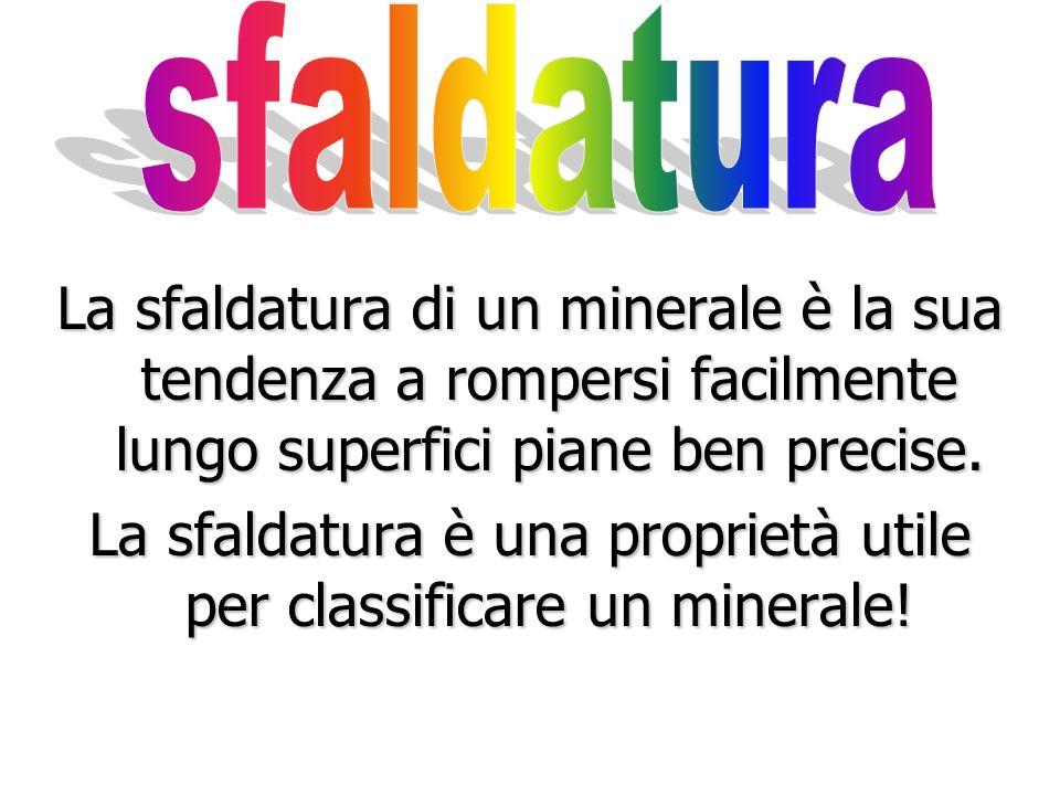 Lo striscio spesso non è dello stesso colore del minerale. Il colore di un minerale può variare, ma il suo striscio raramente lo fa!
