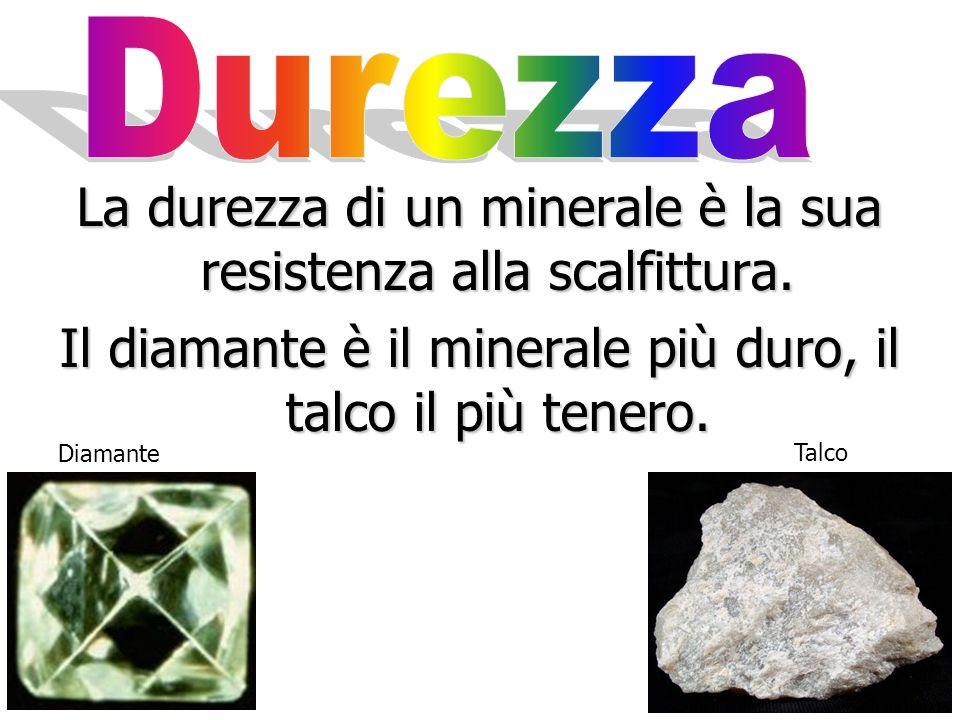 Non tutti i minerali hanno sfaldatura. Quelli che non si rompono lungo superfici di sfaldatura si dice che presentano superfici di frattura.