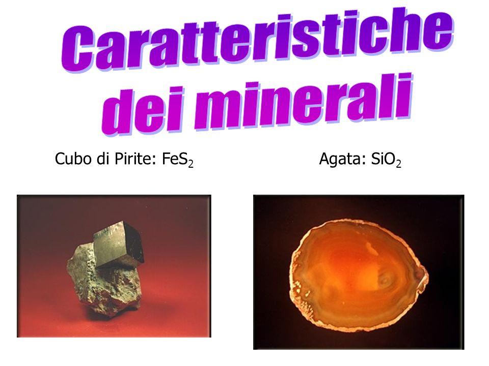 Oro nativo: Au CaSO 4.2H 2 O Spato dIslanda CaCO 3
