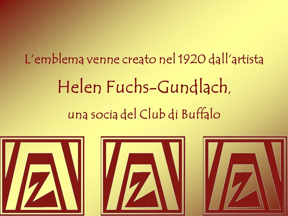 Lemblema venne creato nel 1920 dallartista Helen Fuchs-Gundlach, una socia del Club di Buffalo