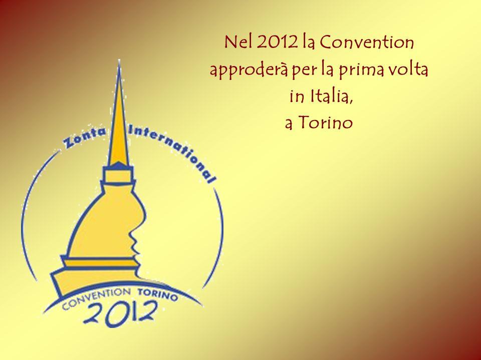 Nel 2012 la Convention approderà per la prima volta in Italia, a Torino