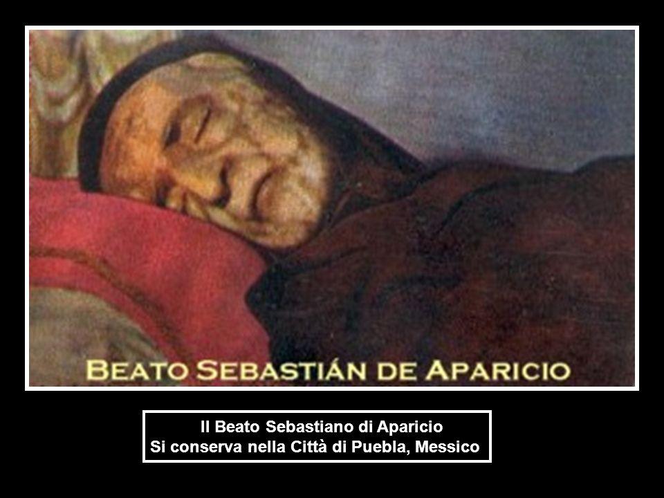 Il Beato Sebastiano di Aparicio Si conserva nella Città di Puebla, Messico