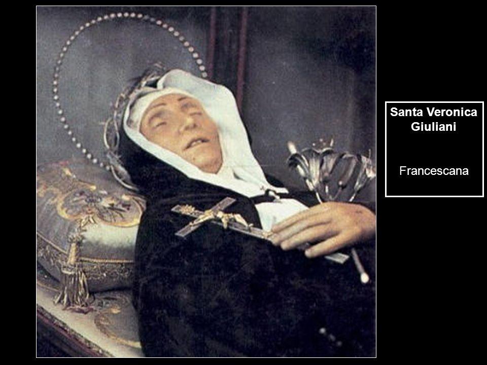 Santa Veronica Giuliani Francescana