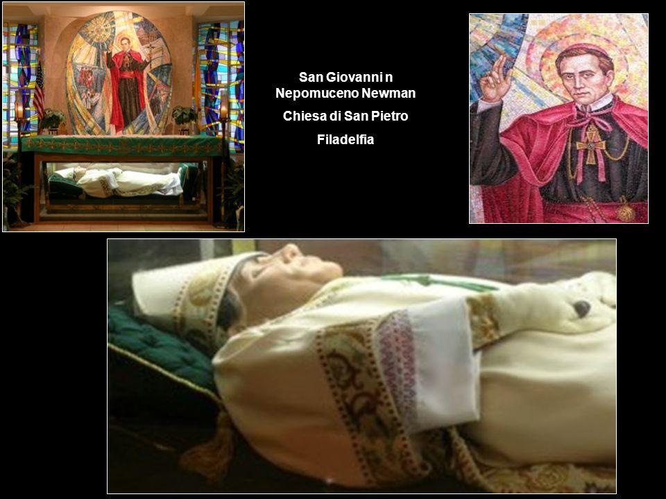 San Giovanni n Nepomuceno Newman Chiesa di San Pietro Filadelfia