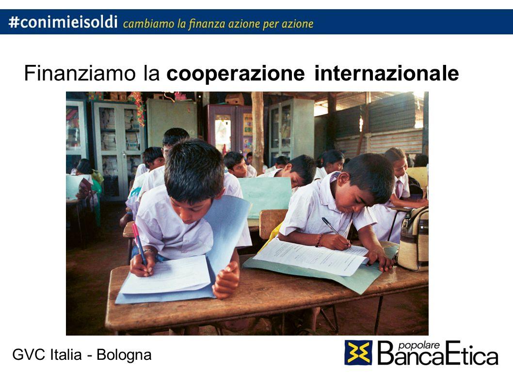 Finanziamo la cooperazione internazionale GVC Italia - Bologna