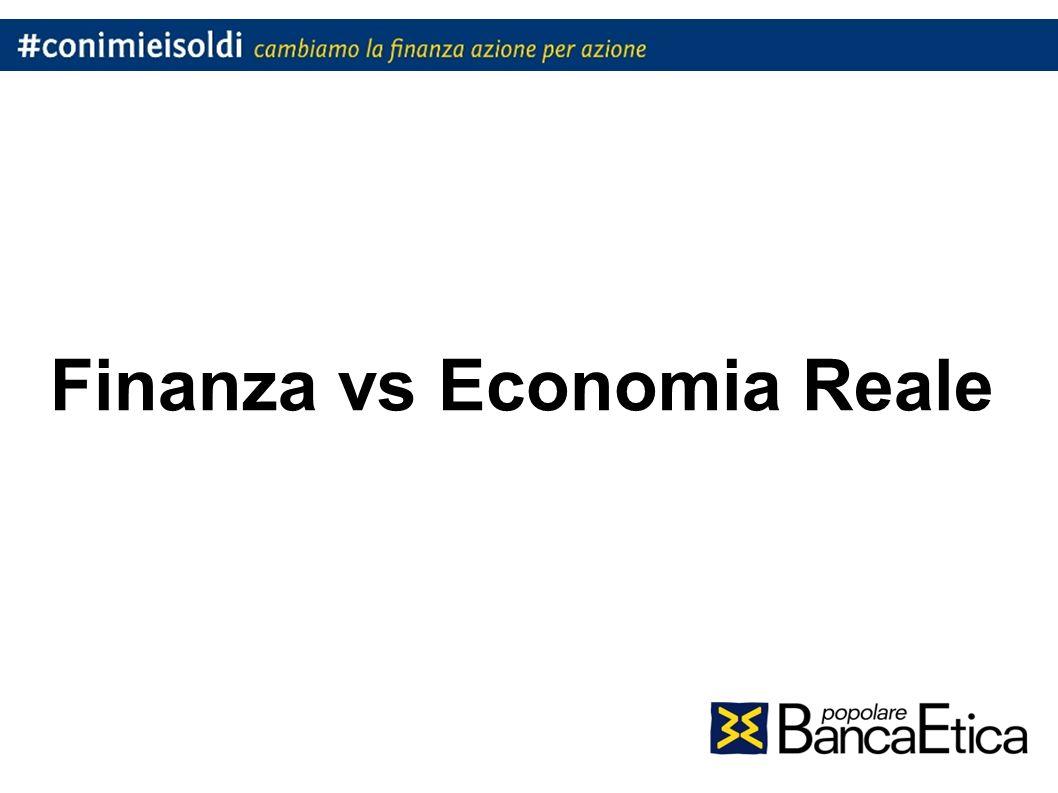 Finanza vs Economia Reale