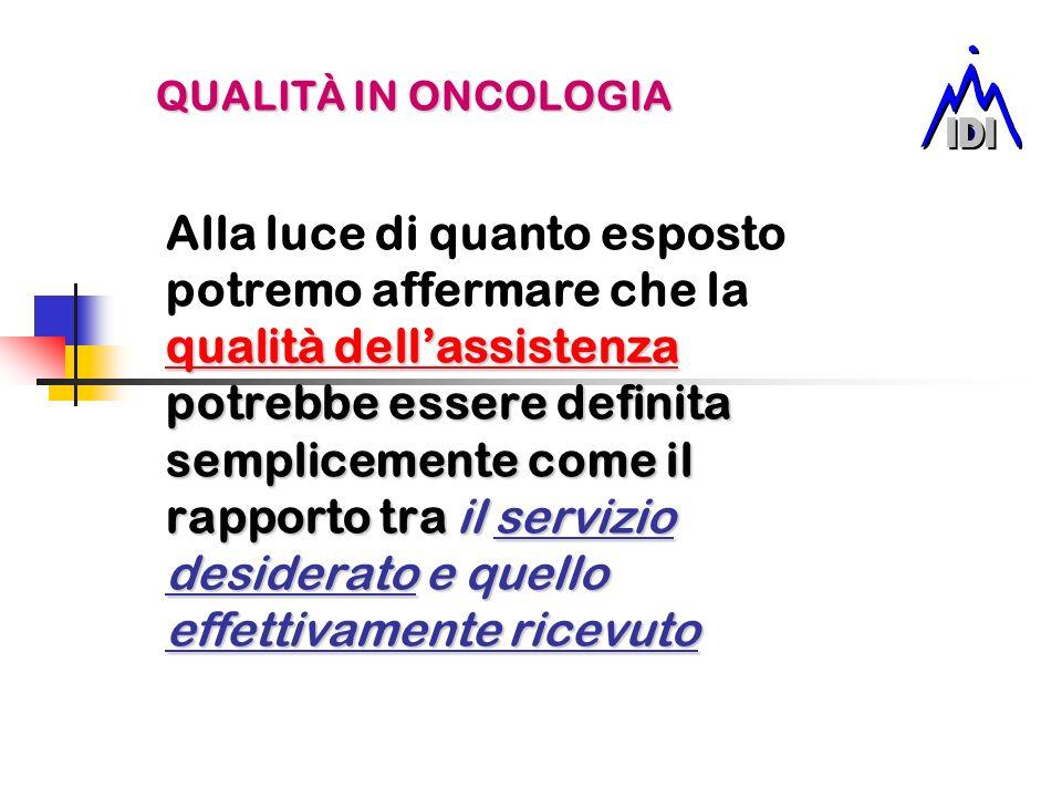 PERCHÈ ACCREDITARE UNUNITA OPERATIVA DI ONCOLOGIA.