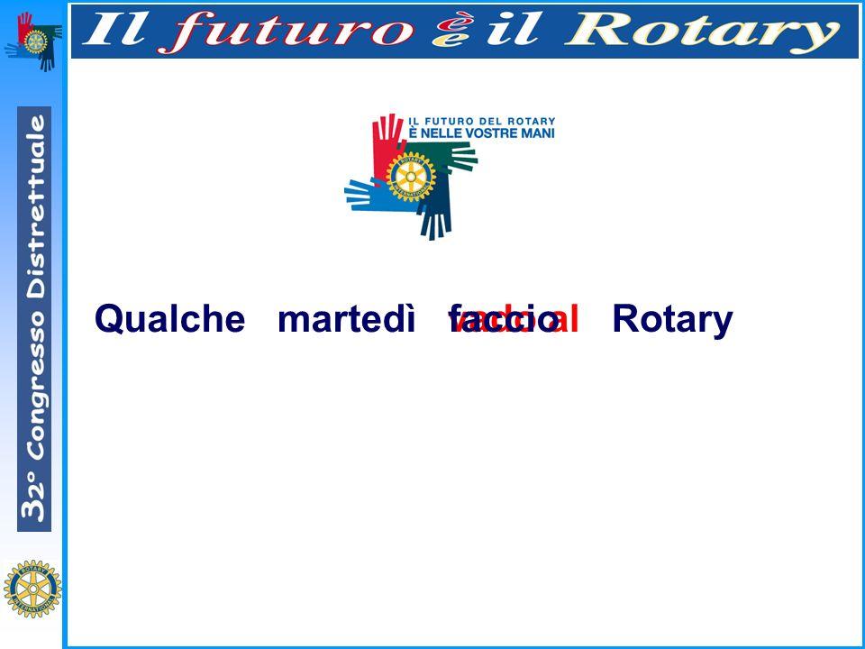 Qualchemartedì Rotary faccioTutti i