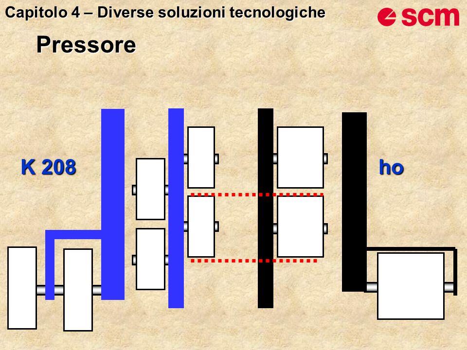 K 208 ho Capitolo 4 – Diverse soluzioni tecnologiche Pressore