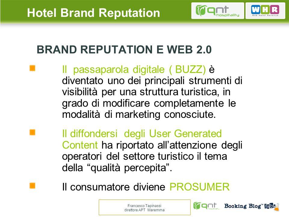 Non risultano evidenziabili coerenze nelle: tipologie, star rating, location, web marketing, contratti OTA.