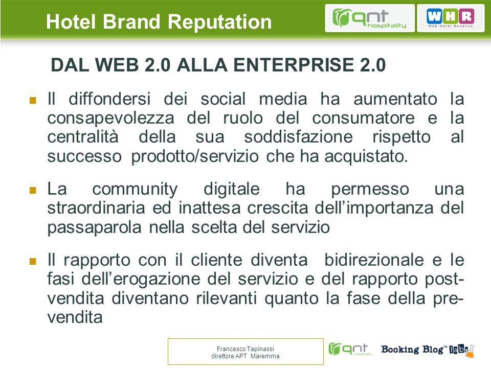 GRAZIE PER LATTENZIONE Francesco Tapinassi direttore APT Maremma Hotel Brand Reputation