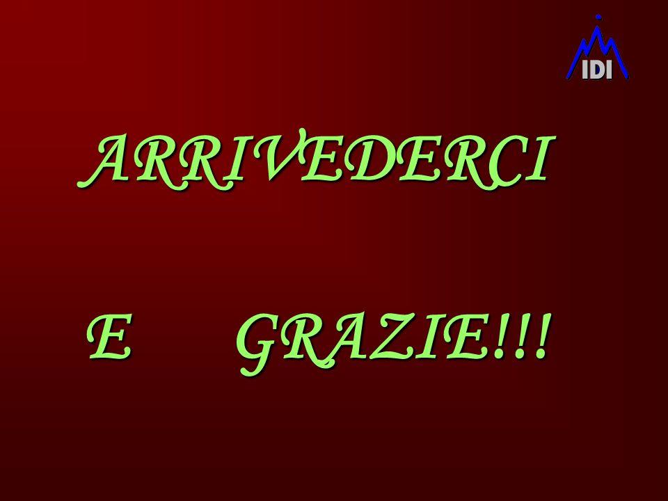 ARRIVEDERCI E GRAZIE!!!