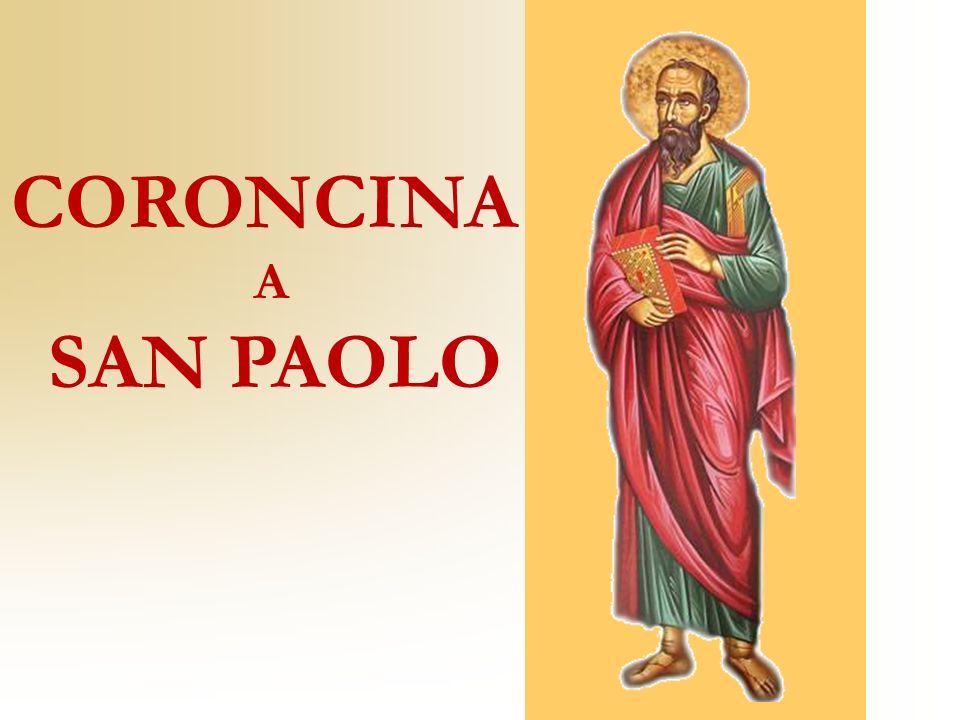 Ti benedico, Gesù, per la grande misericordia concessa a san Paolo nel mutarlo da fiero persecutore in ardente apostolo della Chiesa.