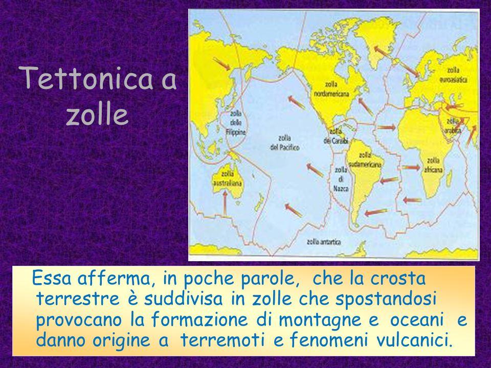Placche principali 1.Placca Nord Americana - Nord America, Nord-Ovest Atlantico e Groenlandia 2.Placca Sud Americana - Sud America e Sud-Ovest Atlanti
