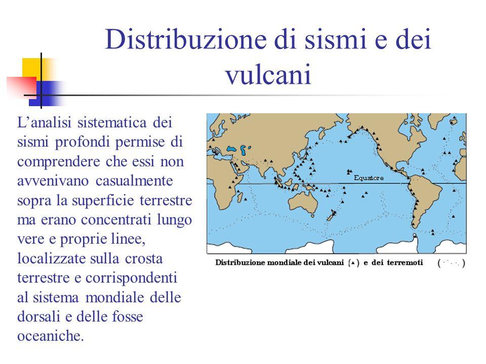 Wadati 1935 e Benioff 1940 Nel 1935 uno scienziato giapponese, Kiyoo Wadati, affermò che i terremoti ed i vulcani situati vicino al Giappone avrebbero