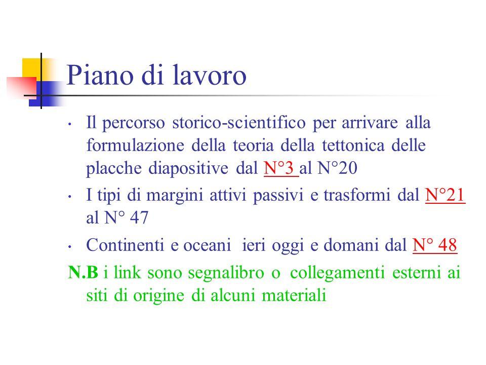 Tettonica delle placche di claudia cammoranesi elaborazione di materiale trovato in rete http://www.minerva.unito.it/sis/hess/Hess2.html#PERCORSO http