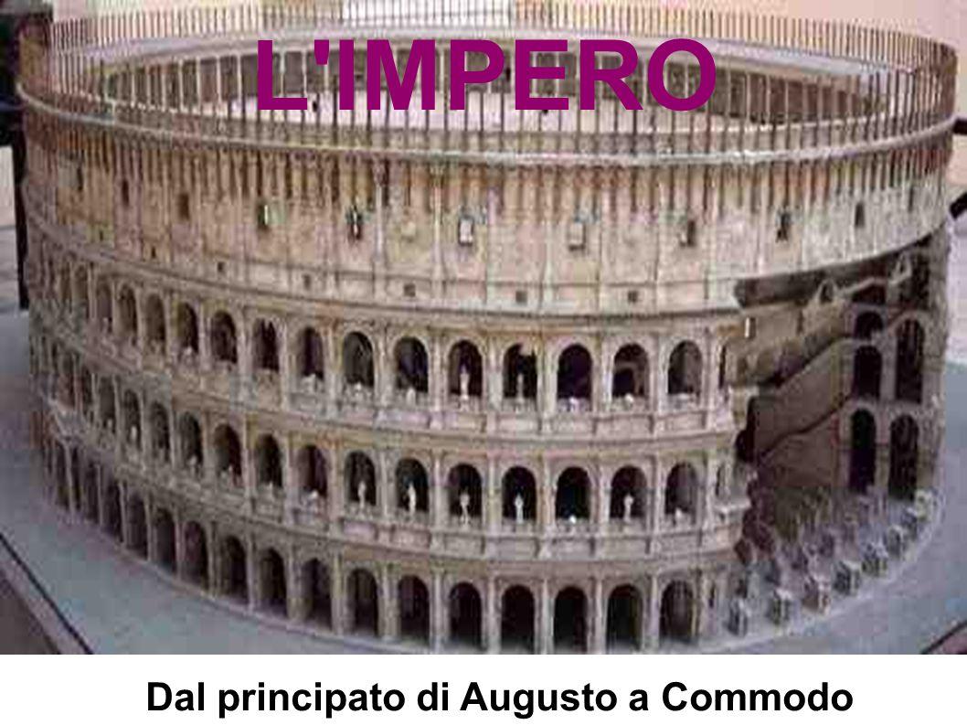 Dal principato di Augusto a Commodo L IMPERO