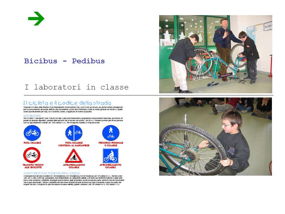 Bicibus - Pedibus I laboratori in classe