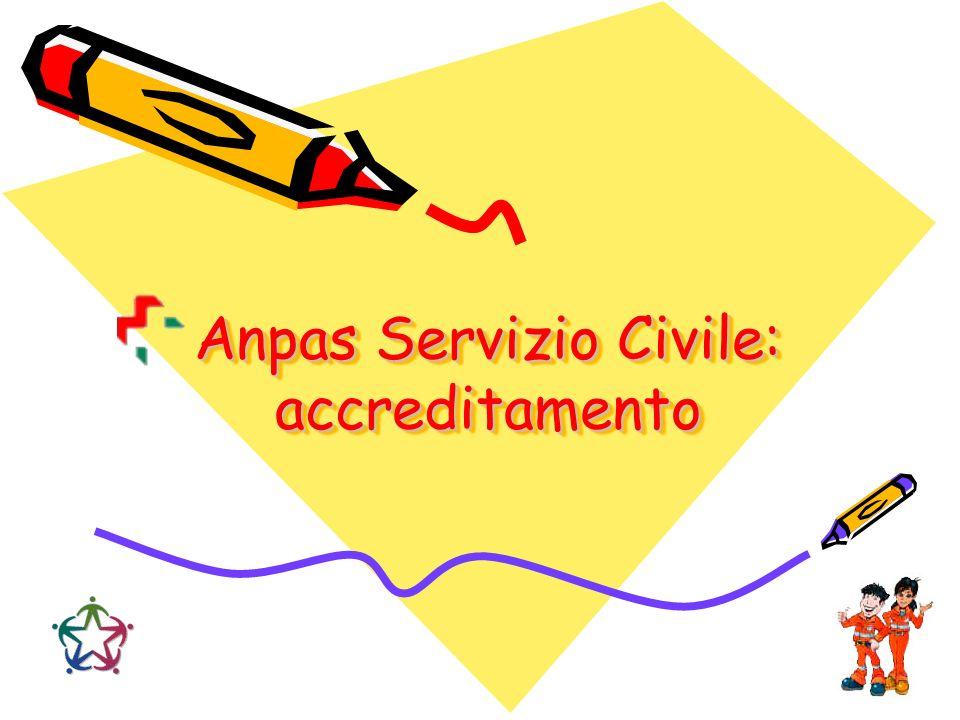 Anpas Servizio Civile: accreditamento