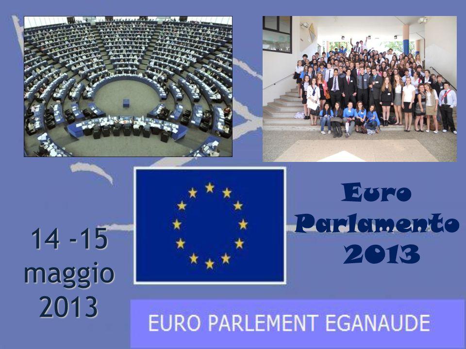 14 -15 maggio 2013 Euro Parlamento 2013