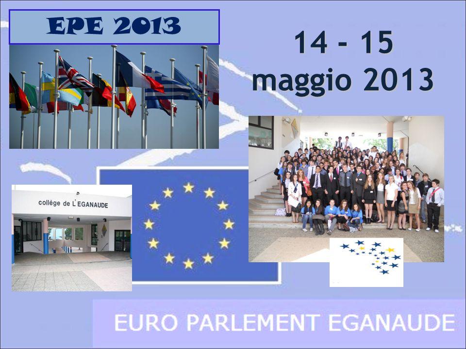 14 - 15 maggio 2013 EPE 2013
