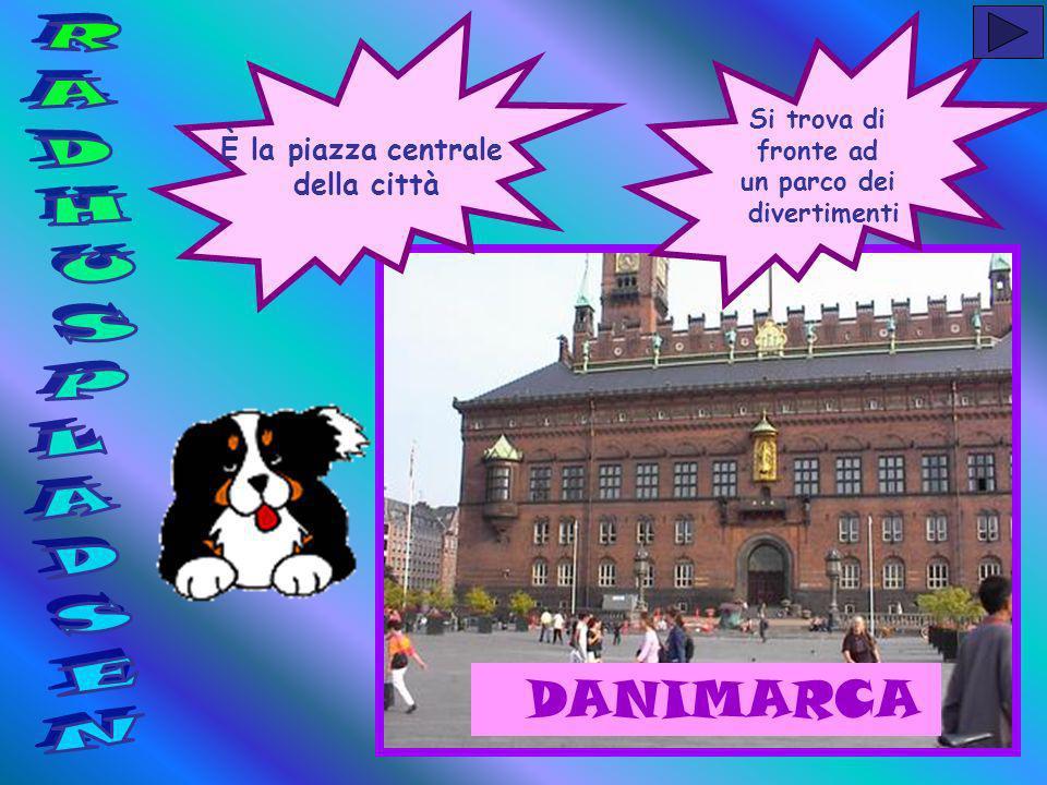 È la piazza centrale della città Si trova di fronte ad un parco dei divertimenti DANIMARCA