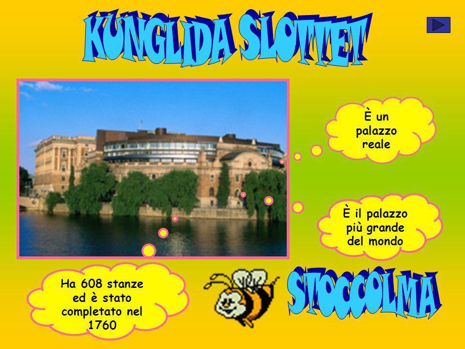 È un palazzo reale È il palazzo più grande del mondo Ha 608 stanze ed è stato completato nel 1760