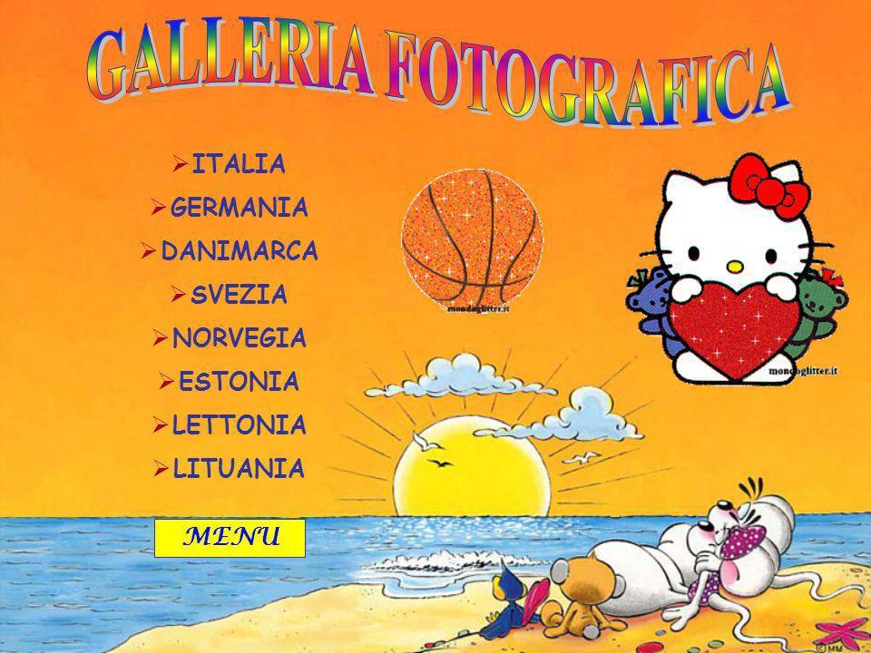 ITALIA GERMANIA DANIMARCA SVEZIA NORVEGIA ESTONIA LETTONIA LITUANIA MENU