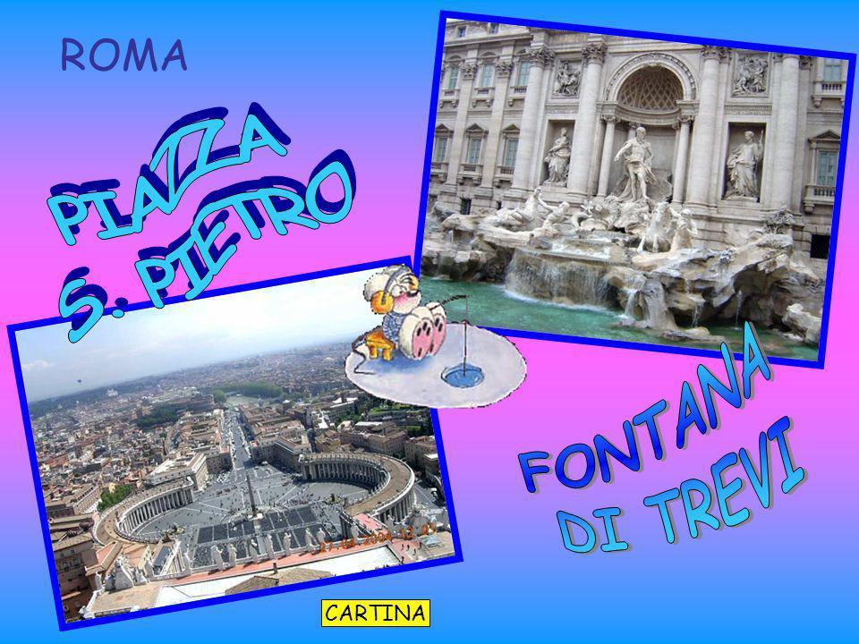 CARTINA ROMA