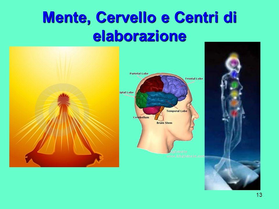 13 Mente, Cervello e Centri di elaborazione