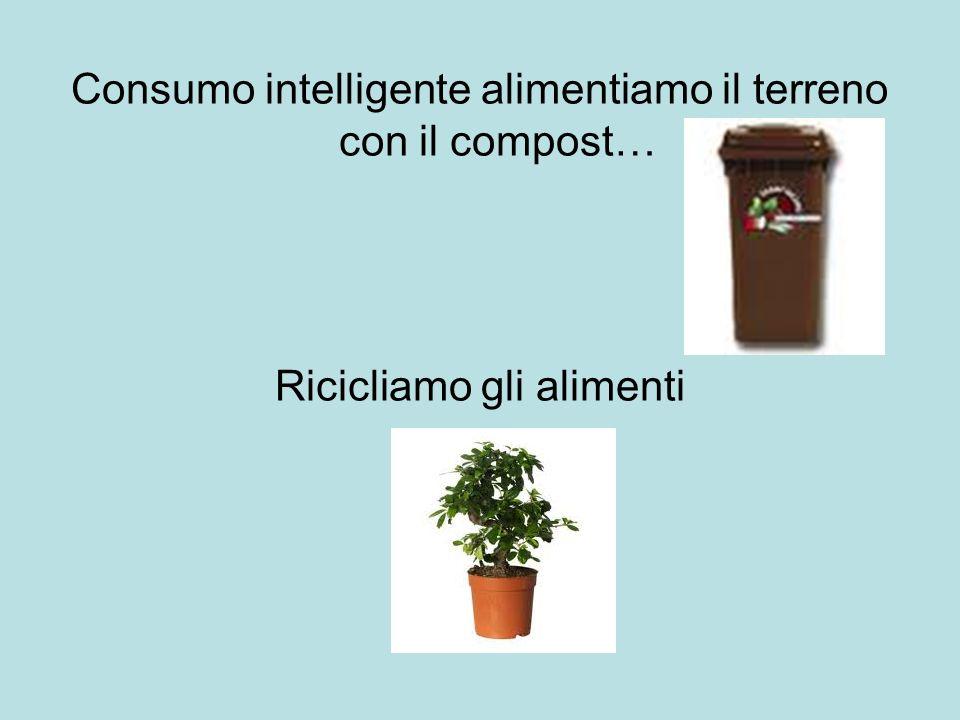 Consumo intelligente alimentiamo il terreno con il compost… Ricicliamo gli alimenti